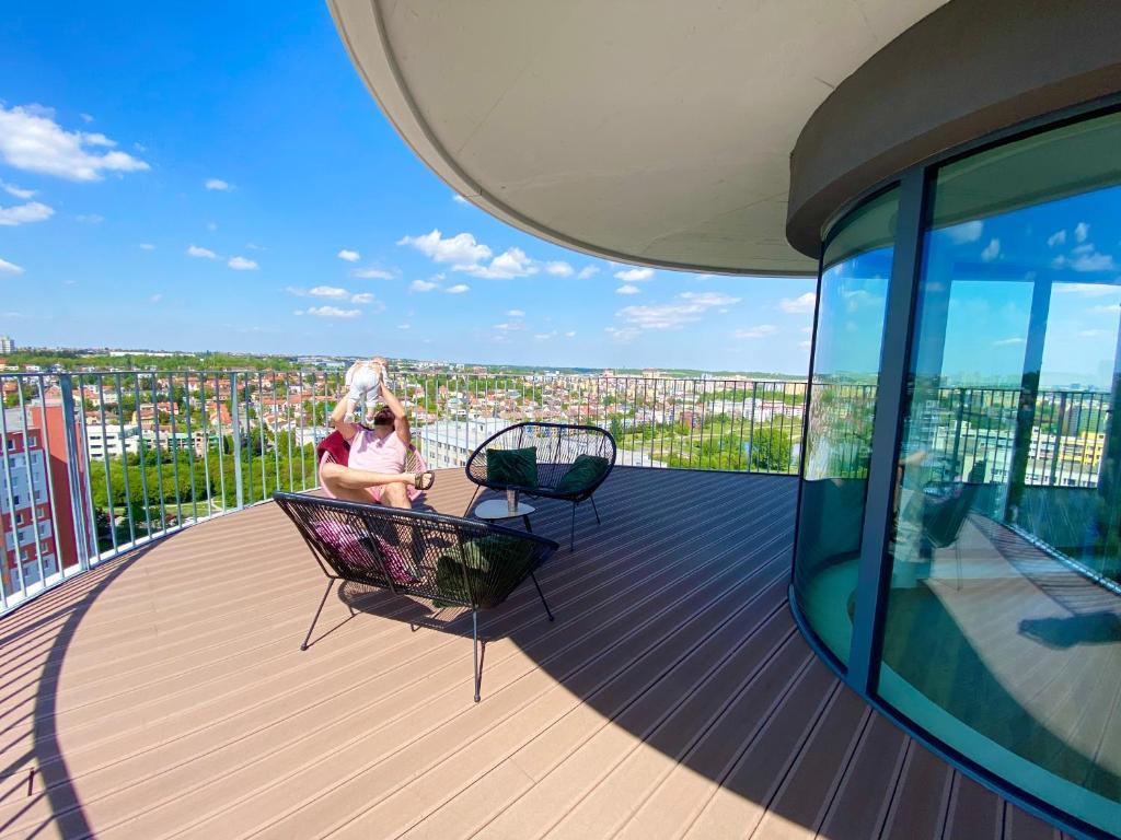 Балкон или терраса в Hamberger Living