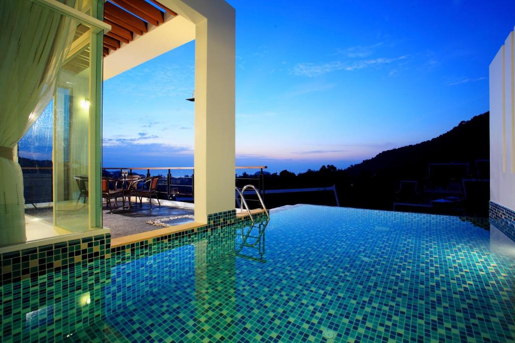 The swimming pool at or near Kata Sea View Villas