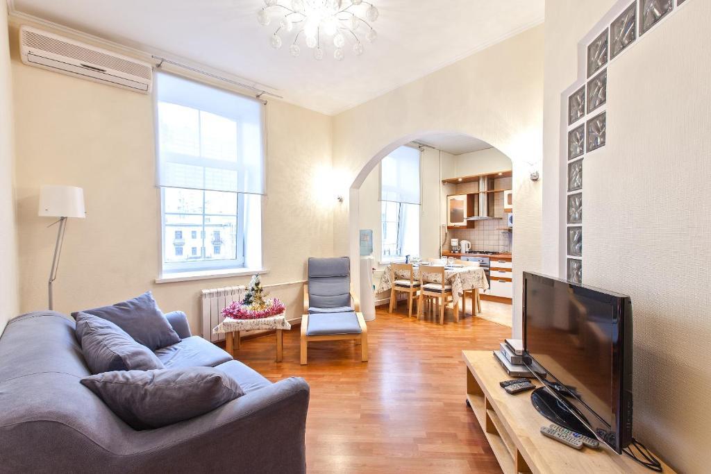 A seating area at Premium Apartment Old Arbat