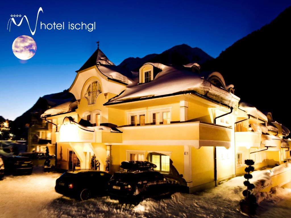 Hotel Ischgl during the winter