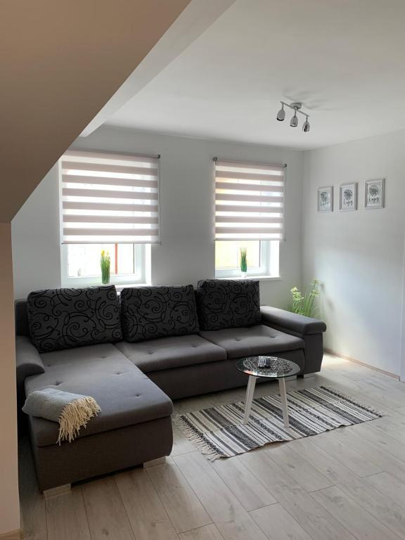 A seating area at Apartamenty Zieleniec-Julia 3