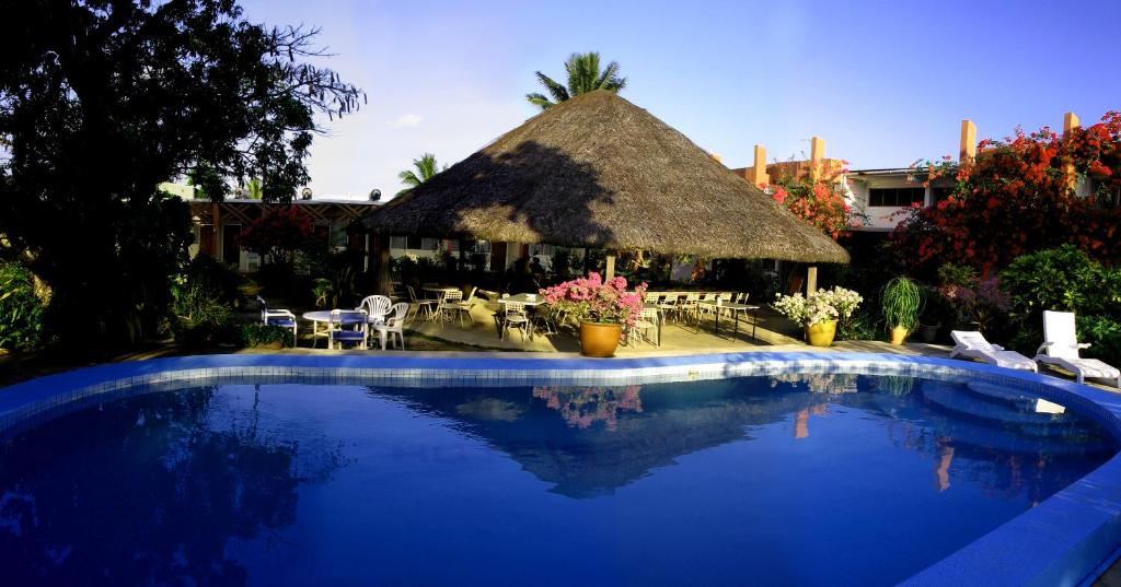 The swimming pool at or near Hotel Santo