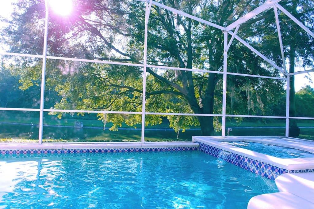The swimming pool at or close to Soothing Tranquility! Private Pool and Spa with Water View!