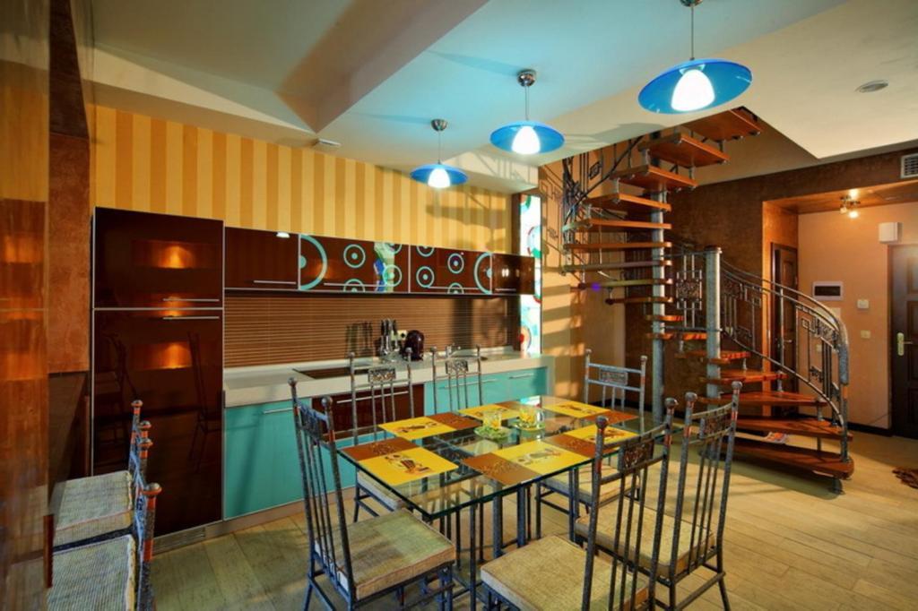 Ресторан / й інші заклади харчування у Apart-Hotel Chale Graal