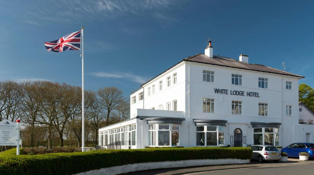The White Lodge Hotel in Filey, North Yorkshire, England