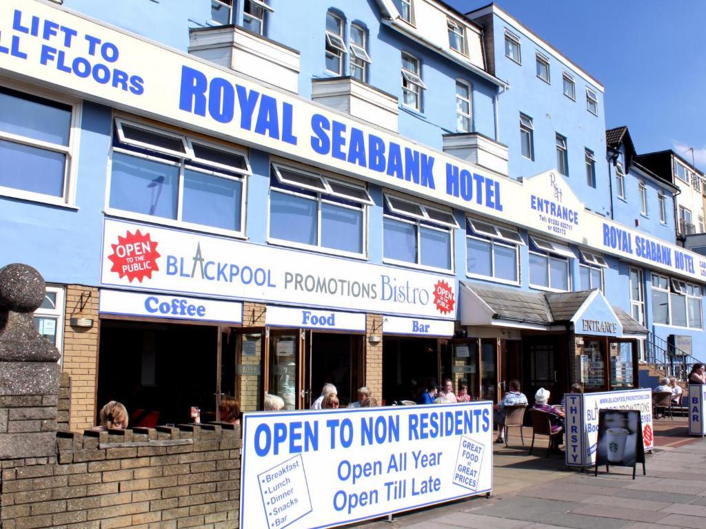 Royal Seabank Hotel in Blackpool, Lancashire, England
