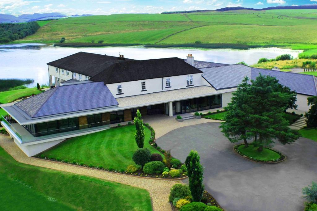 A bird's-eye view of Lochside House Hotel & Spa