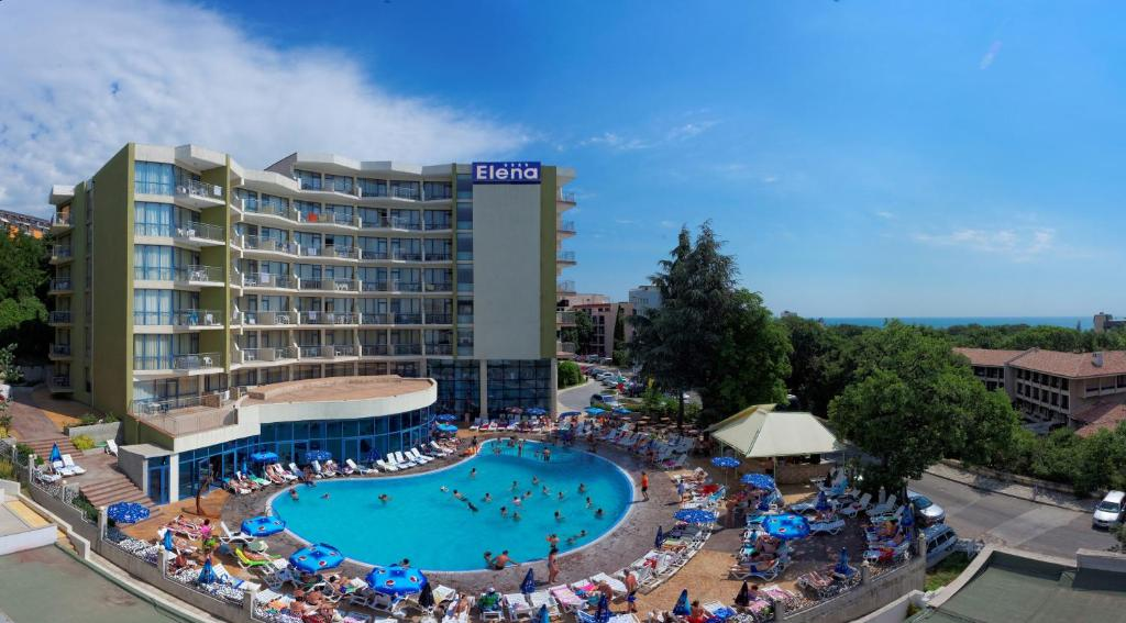 A view of the pool at Hotel Elena - All Inclusive or nearby