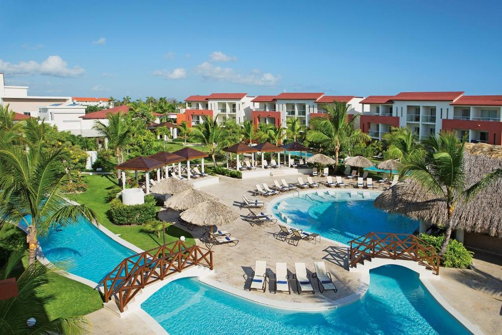 A view of the pool at Now Larimar Punta Cana or nearby