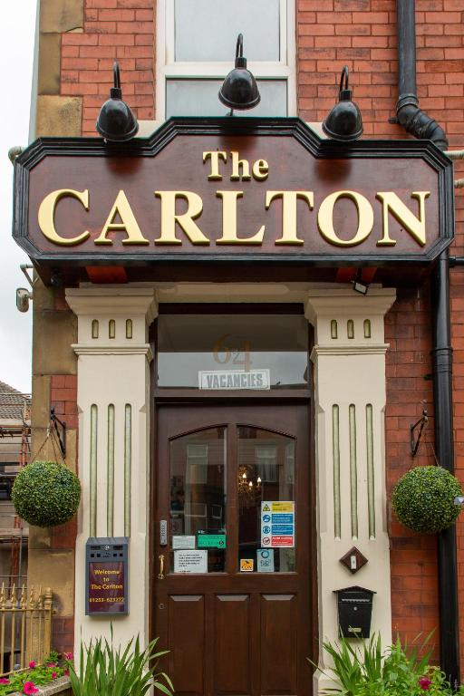 The Carlton in Blackpool, Lancashire, England