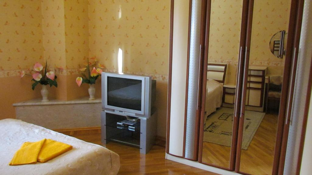 A television and/or entertainment center at Lesnaya Dacha