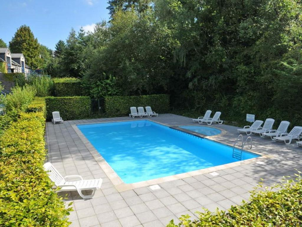 The swimming pool at or close to Lavish Apartment in Durbuy with Swimming Pool and Garden