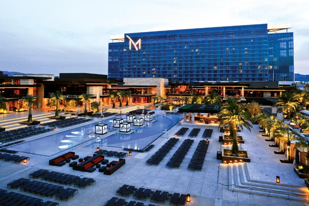 A view of the pool at M Resort Spa & Casino or nearby
