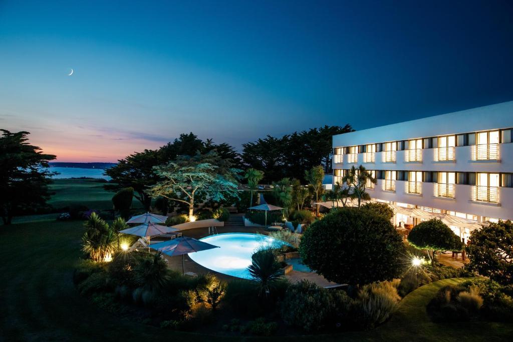 The Atlantic Hotel in St Brelade, Channel Islands, Channel Islands