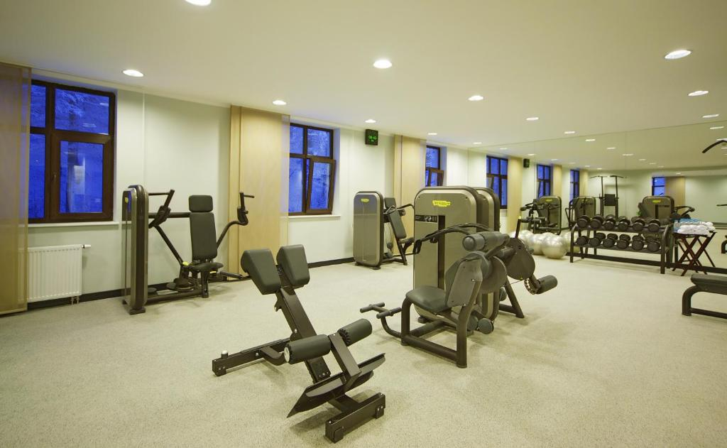 Фитнес-центр и/или тренажеры в Парк Инн от Рэдиссон Роза Хутор
