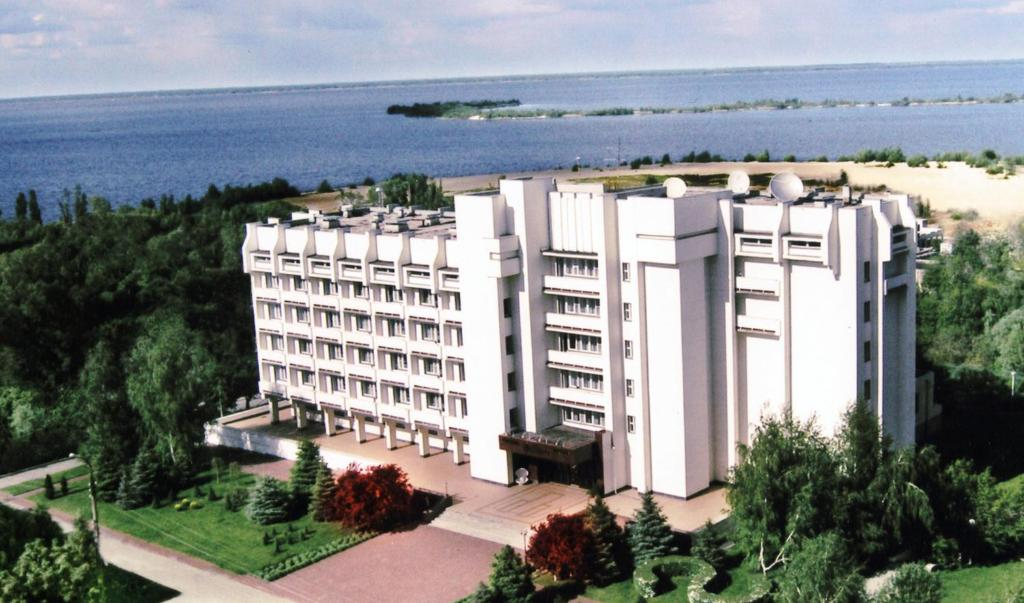 A bird's-eye view of Dnepr Hotel