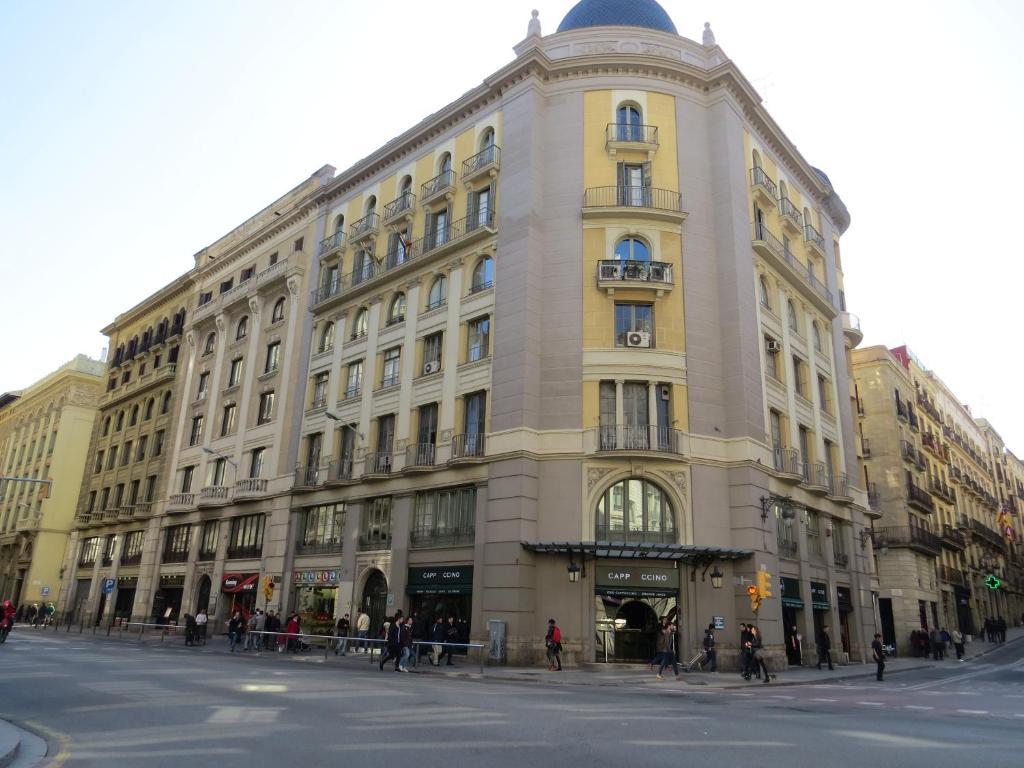 Edifici on està situat l'hostal o pensió