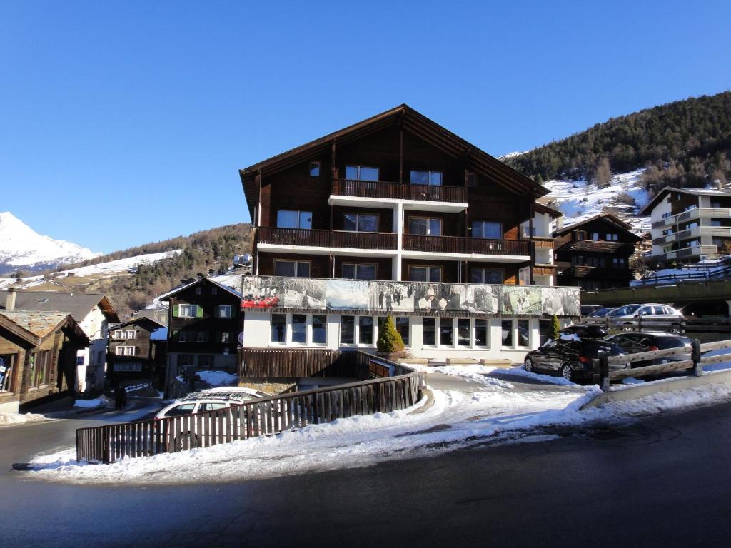 Hotel Gebidem during the winter