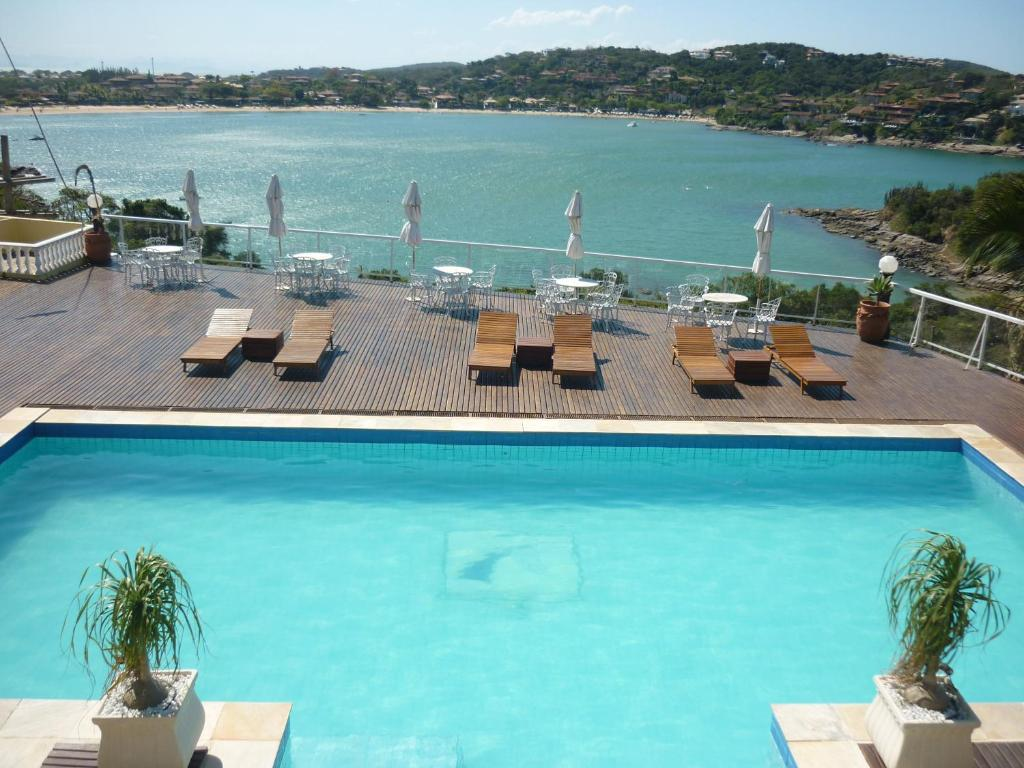 A view of the pool at Unicornio & SPA BY MN Hotéis or nearby