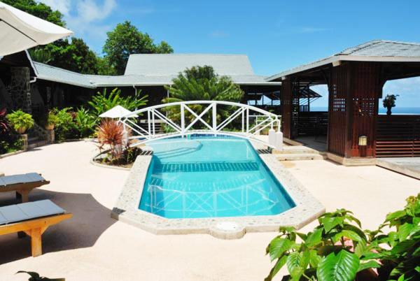 The swimming pool at or near Spring Hotel Bequia