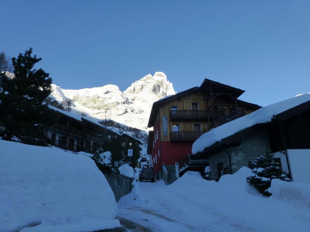Hosquet Lodge a l'hivern