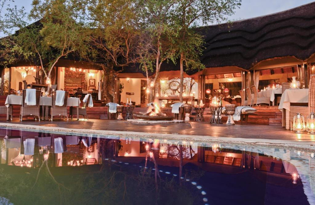 The swimming pool at or near Madikwe Hills Private Game Lodge