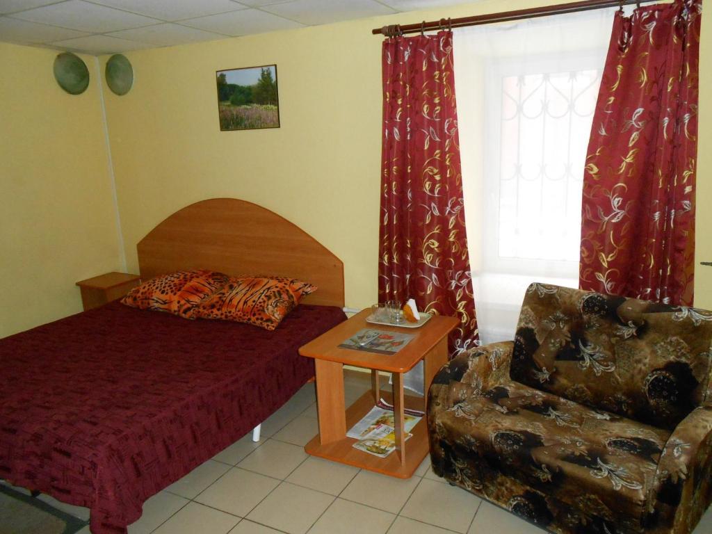 Гостиная зона в Гостевой дом Рандеву