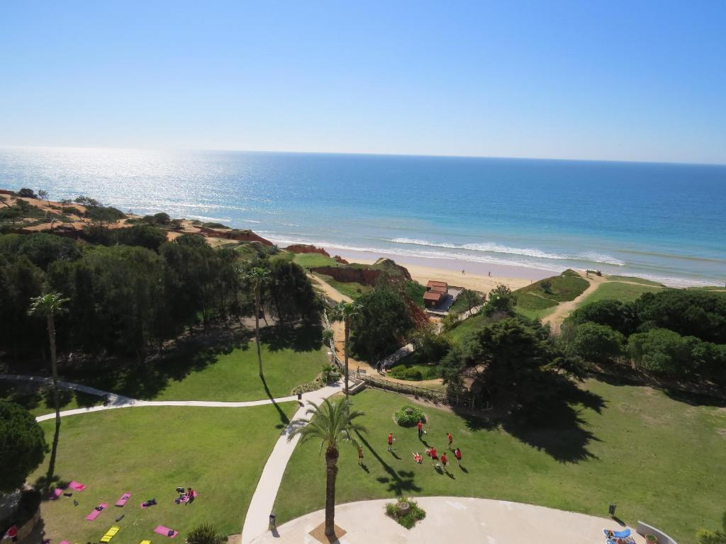 A bird's-eye view of ALFAMAR Beach & Sport Resort