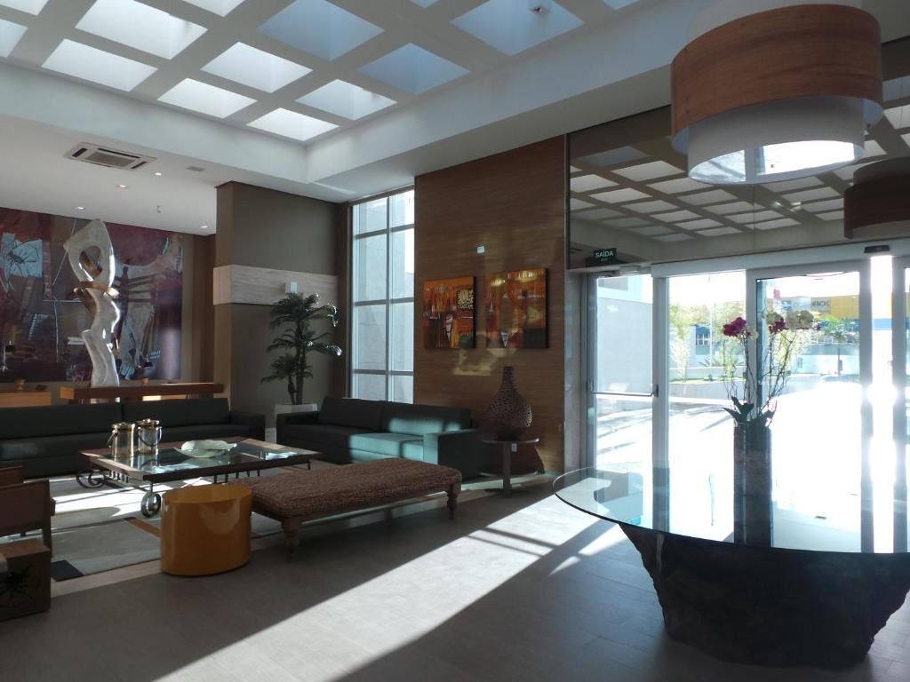 The lobby or reception area at Flat Particular Brasilia 1004 / 1006