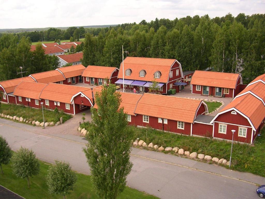 A bird's-eye view of Oxgården