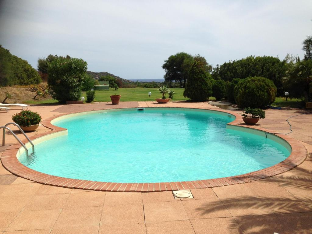 The swimming pool at or near Villa Lia
