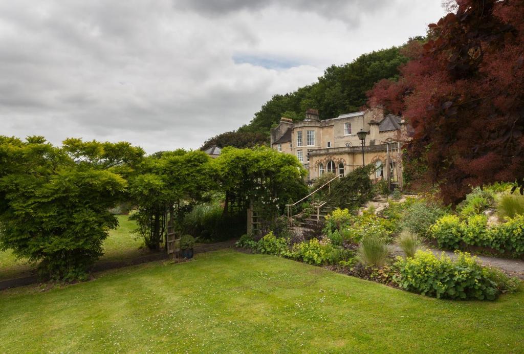 A garden outside Bath Paradise House