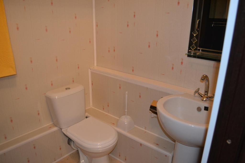 Ванная комната в Отель Александра