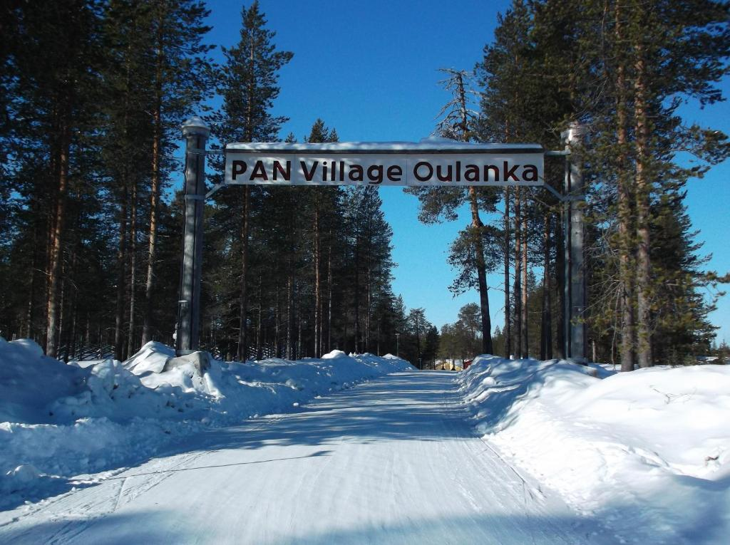 Sallainen Panvillage in de winter