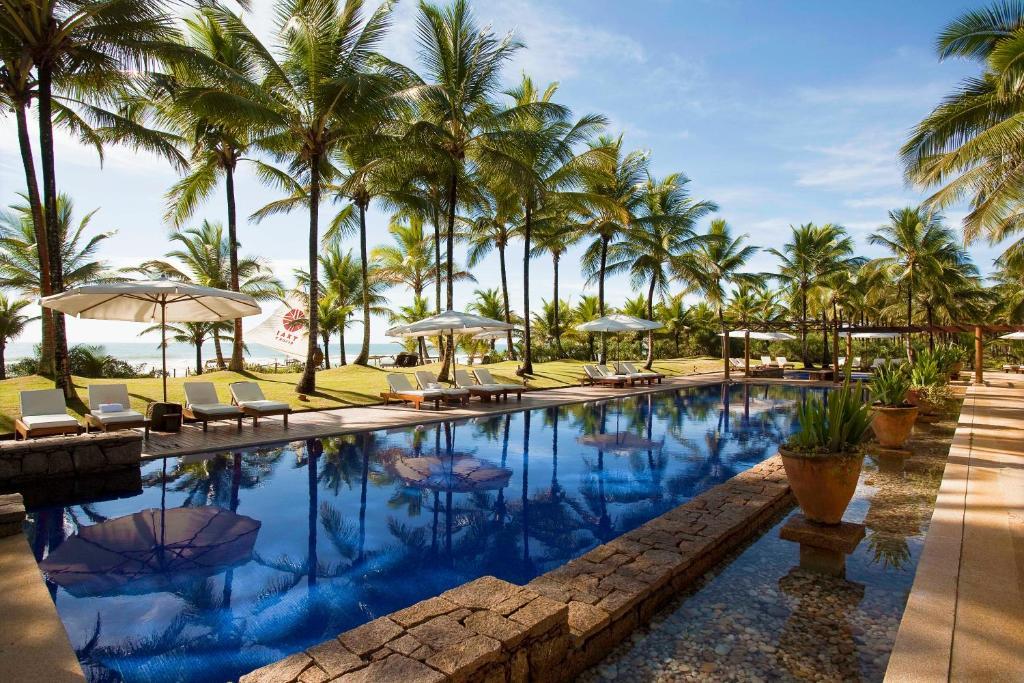 The swimming pool at or near Txai Resort