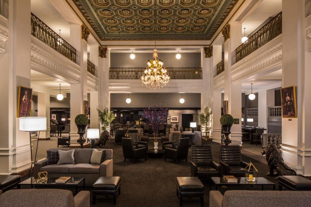 Lord Baltimore Hotel大廳或接待區