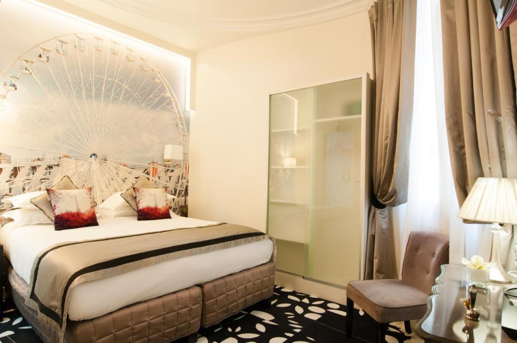 Hotel Ile De France Opera Paris France Booking Com