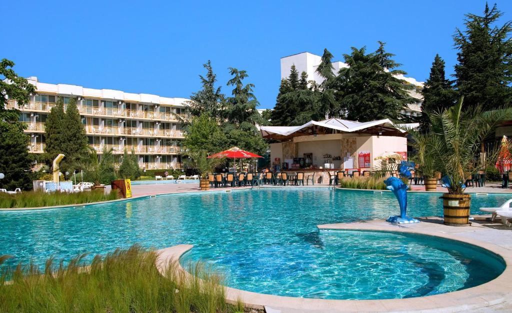 The swimming pool at or near Hotel Malibu - All Inclusive