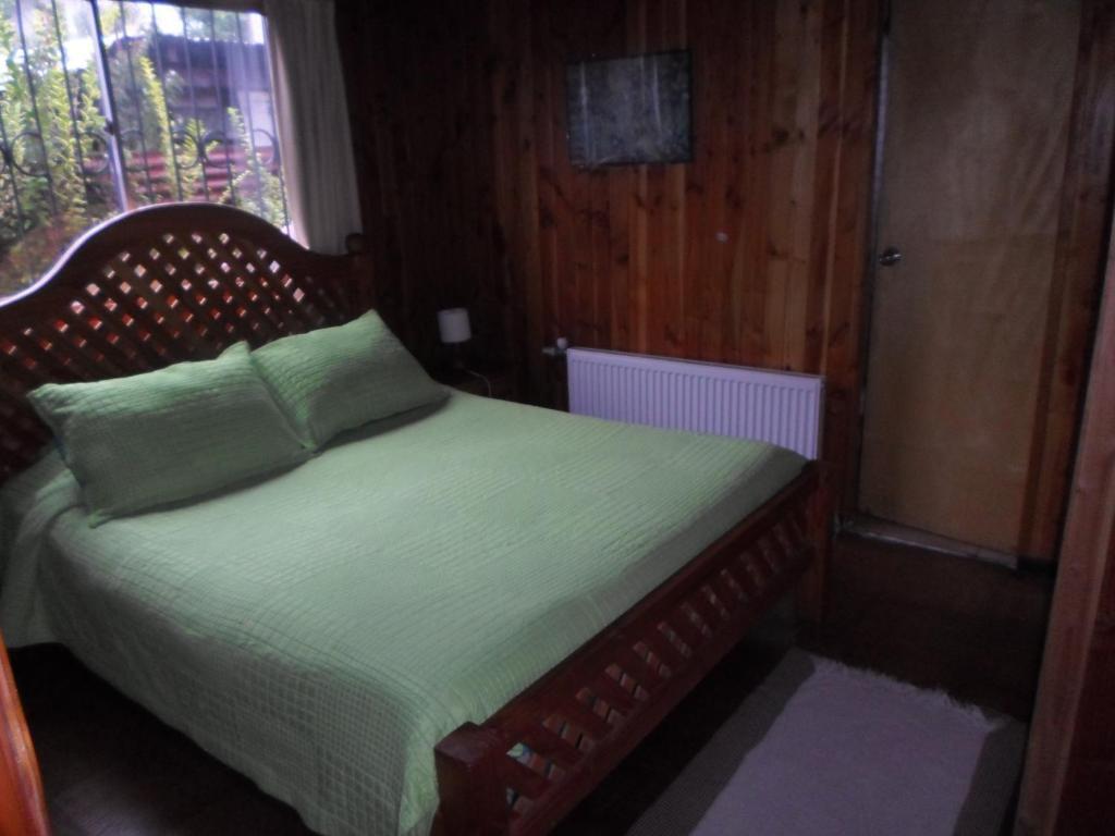 Posteľ alebo postele v izbe v ubytovaní Hostal Carmen