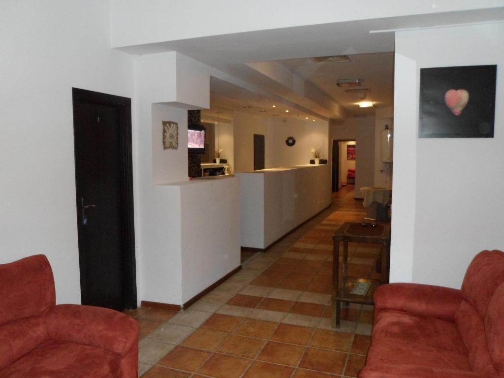 The lobby or reception area at Pensjonat Kordeckiego