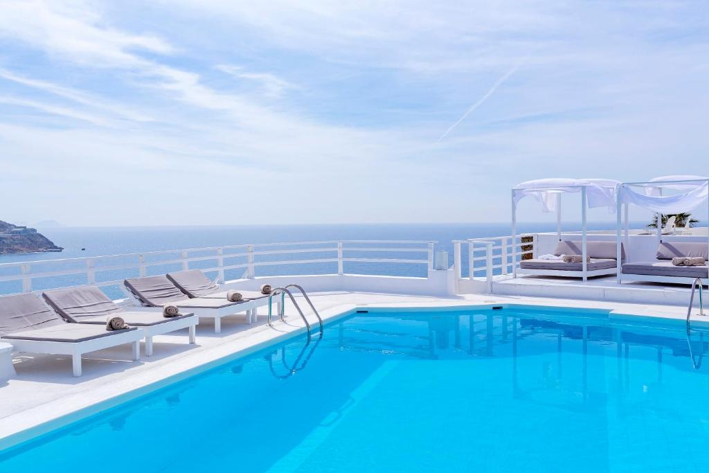 The swimming pool at or near Pietra e Mare - Small Luxury Hotels of the World
