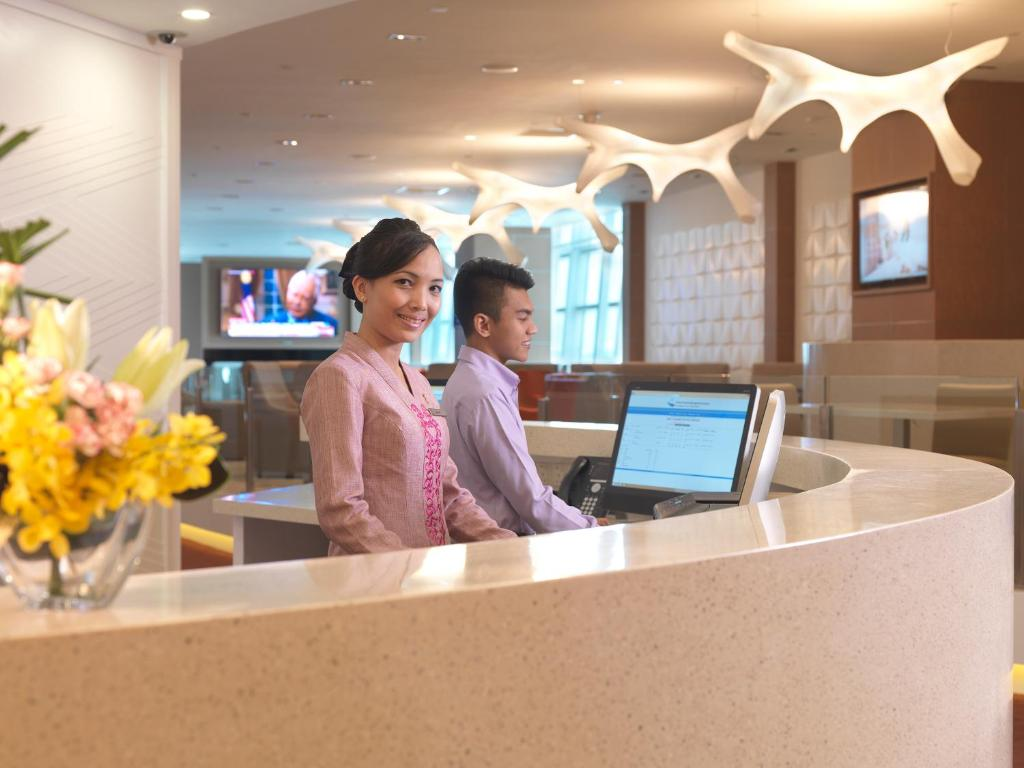 The lobby or reception area at Sama Sama Express klia2 (Airside Transit Hotel)