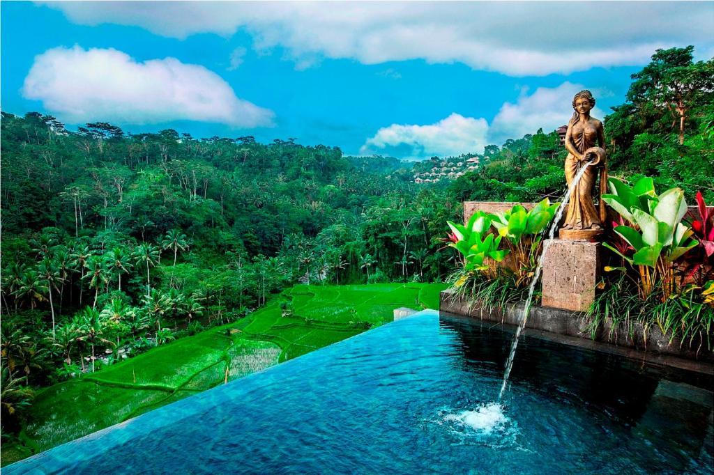 Бассейн в Black Penny Villas Ubud или поблизости