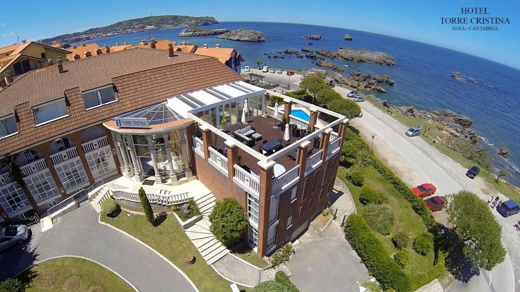 A bird's-eye view of Hotel Torre Cristina