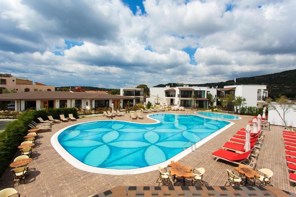Piscina di Assos Barbarossa Hotel - Special Category o nelle vicinanze