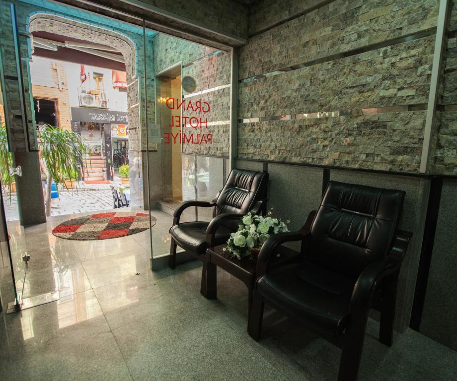 Гостиная зона в Grand Hotel Palmiye