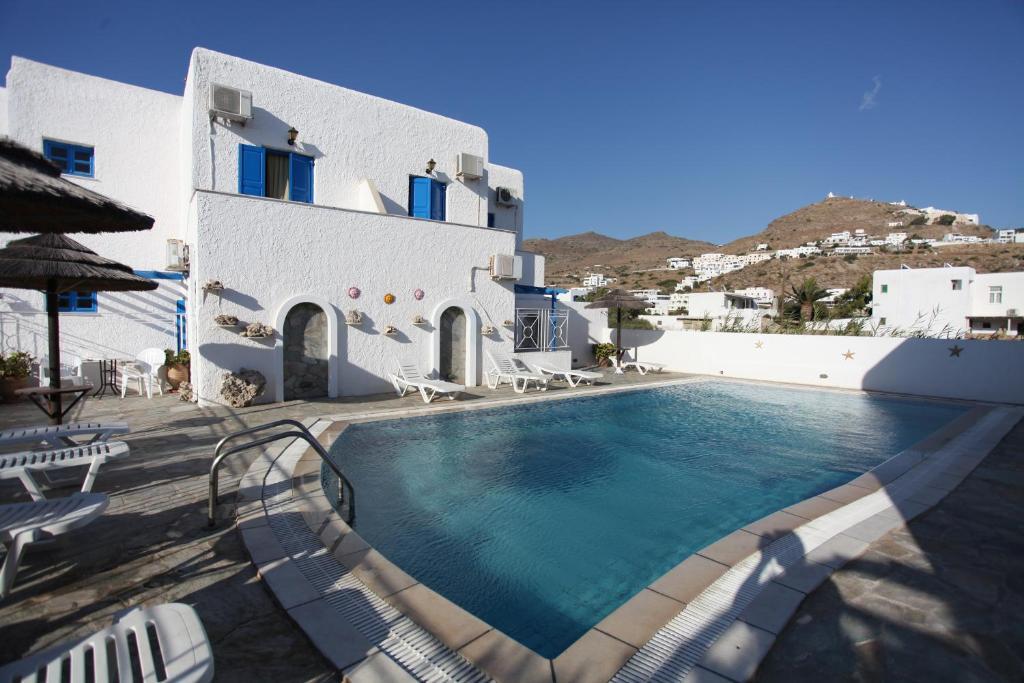 Bazén v ubytování Mare Monte nebo v jeho okolí