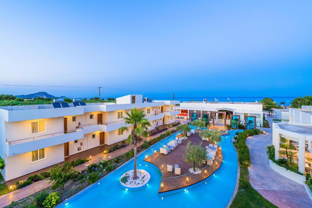 A view of the pool at Afandou Bay Resort Suites or nearby