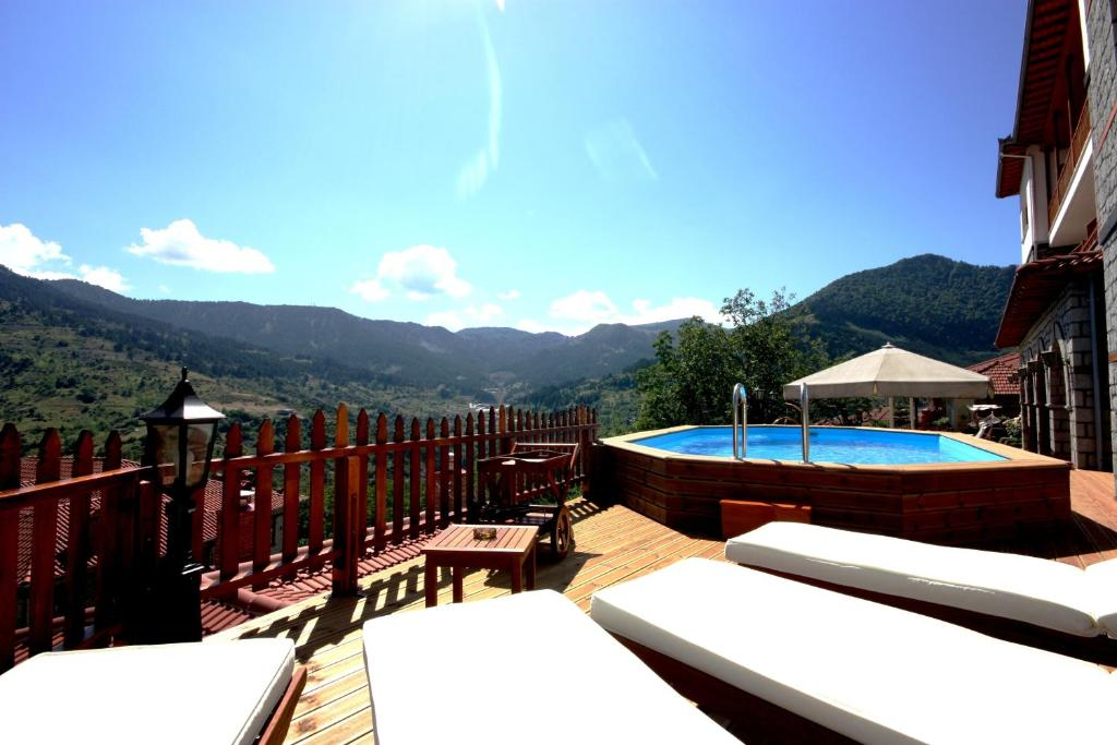 The swimming pool at or near Archontiko Metsovou Luxury Boutique Hotel