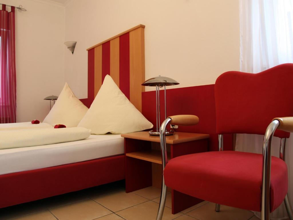 A seating area at Hotel Villa Casa